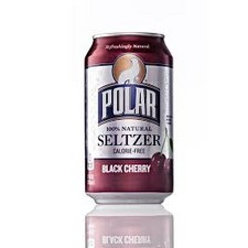 POLAR SELTZER BLACK CHERRY