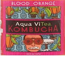 Aqua ViTea Blood Orange Kombuc