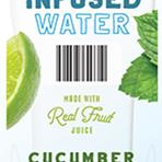 Cucumber Lime Mint Infused Wat
