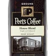 GROUND PEET`S HOUSE BLEND 1L