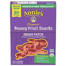 Annie`s Fruit Snack Berry Patc