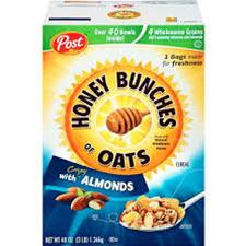 HONEY BUNCHES OF OATS  48 OZ