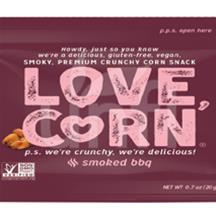 Love Corn BBQ 100/.7 OZ