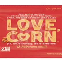 Love Corn Habanero 100/.7 OZ