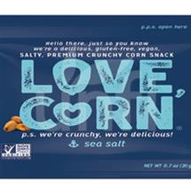 Love Corn Sea Salt 100/0.7 OZ
