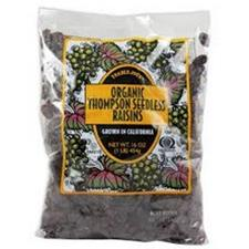 THOMPSON SEEDLESS RAISINS  1LB