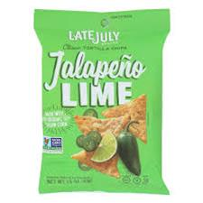Late July Jalapeno Lime Chips