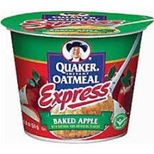BAKED APPLE EXPRESS OATMEAL