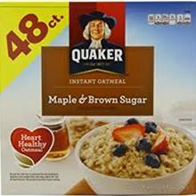 MAPLE BROWN SUGR OATMEAL/48PKT