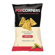 POPCORNERS KETTLE CHIPS/40 CT