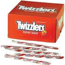 TWIZZLERS INDIV WRAPPED 105 CT
