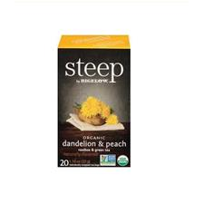 Steep Org Dandelion Peach