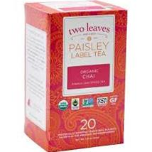 PAISLEY FAIRTRADE ORG CHAI(20)