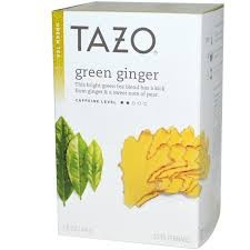 TAZO GREEN GINGER TEA 24 CT